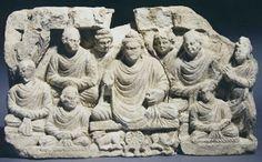 The First Sermon Gandhara Archives Kurita