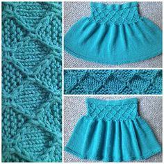 Ravelry: Jade Diamond Short Skirt pattern by Ratchadawan Chambers