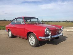 Fiat - 850 Sport Coupe -1970 Fiat 850, Beach Cars, Fiat Cars, Sport, Cars And Motorcycles, Vintage Cars, Classic Cars, Automobile, Vehicles