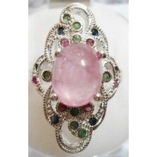 7.670 Grms. 925 Sterling Silver with African Ruby