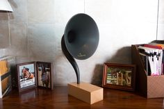 gramovox bluetooth powered gramophone