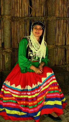 Me... in traditional dress from Gilan (North of Iran)