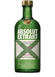 """Absolut Extrakt No.1 is a bold, yet delicious spirit which combines Absolut vodka with the spiced warm flavor of green cardamom, along with other secret ingredients. Representing a modern take on the traditional drink, Swedish """"snaps"""", Absolut Extrakt is fresh, spicy and smooth with a distinct character of green cardamom. Swedes have been infusing alcohol with spices, herbs and plant extracts for hundreds of years, which is most often drunk as a shot, or a """"snaps"""" as Swedes would refer to…"""