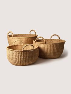 ART&ARTICLE - Woven Floor Baskets