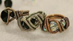 Wire Ring Making With Eva Sherman: 5 Tips for Making Stylish Wire Rings and More - Jewelry Making Daily - Blogs - Jewelry Making Daily