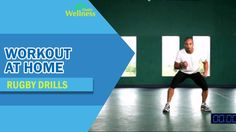 Workout at Home - Rugby Drill