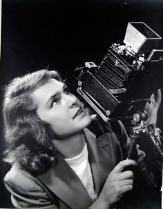 Margaret Bourke White (1904-1971), acclaimed photographer with many firsts, including LIFE magazine's first female photographer