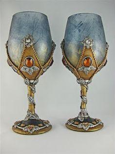 Medieval style goblet set created by Jayne Ayre