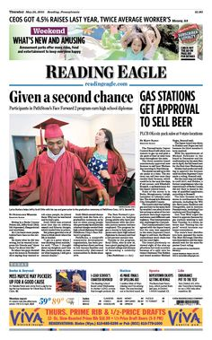 Today's front page. May 26, 2016