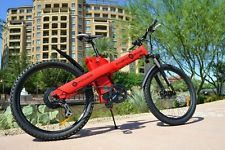 E BIKE Mountain Bicycle electric scooter unicycle RED 20 In