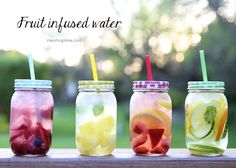 Fruit infused water – naturally flavored water that is not only easy to make, but healthy and delicious! It has a sweet and refreshing taste and has a cleansing effect on the body. Say goodbye to soda, juice and sugary drinks. All you need to make your own fruit infused water is fresh fruit, herbs and …