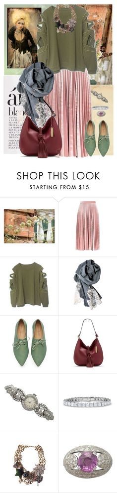 """HARDWARE & SOFTWEAR"" by yesitsme123 ❤ liked on Polyvore featuring Carolina Cottage, Topshop, HIDY N.G., Vince Camuto and Marc Jacobs"