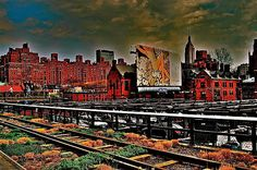 VIEW FROM HIGHLINE NYC