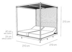 Building Furniture, Furniture Plans, Furniture Design, Beach Furniture, Garden Furniture, Porch Swing With Stand, Daybed Canopy, Outdoor Daybed, Beach Bedding