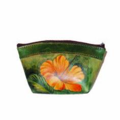 Ručne maľované púzdro 8583 s motívom Kvetu