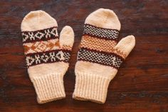 Video & Pattern Library > Gloves & Mittens