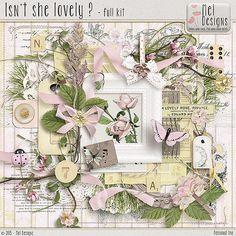 Isn't she lovely ? :: Full & Mini Kits :: Memory Scraps