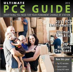 Download the 2013 Ultimate PCS and Get Nearly 60+ Pages of Must Have Data!  Developed by Military Spouses. Top 10 PCS Mistakes, Advice from Other Military, PCSing with an EFM, PCSing While Pregnant, PCSing Alone, Things to Buy Before an OCONUS Move, Preparing Children for the PCS and more!