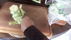 Caule brócolis