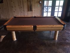 Log Pool Tables - Rustic Billiards