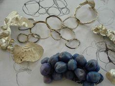 Jewellery Sketchbook - mixed media jewelry design sketches, sampling & development // Akis Goumas Diadromes