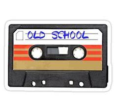 Old school music Stickers 679621400001578535 Ios 11 Wallpaper, Music Wallpaper, Tape Art, Somewhere On A Beach, Old School Music, Beach Watercolor, Volkswagen Polo, Hip Hop Rap, Rap Music