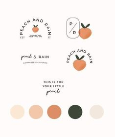 just peachy! logo designs and brand colors that are peach perfect Quick Pages Bo… just peachy! logo designs and brand colors that are peach perfect Quick Pages Bo…,logos just peachy! logo designs and brand. Logo And Identity, Brand Identity Design, Graphic Design Branding, Logo Branding, Visual Identity, Brand Design, Corporate Design, Corporate Identity, Brochure Design
