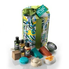 Ten of the freshest and most invigorating of Lush's shower delights all in one box