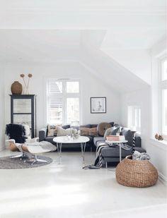 moderne wohnung einrichten ideen wohnzimmer möbel | dachboden, Mobel ideea