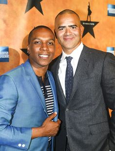 Party Like a Founding Father with Lin-Manuel & the Cast of Hamilton on Opening Night Cast Of Hamilton, Hamilton Broadway, Hamilton Musical, Hot Actors, Actors & Actresses, Leslie Odom, Christopher Jackson, Anthony Ramos, Hamilton Lin Manuel Miranda