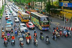 bangkok's legendary traffic