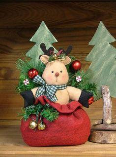 Santa's Stowaway; Reindeer