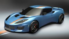 65a41d7467d5 2016 Lotus Evora 400 Blue   Orange Edition Tesla Roadster