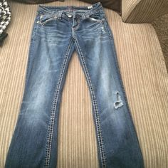 MEK JEANS Worn a Handfull of times but in great shape. Fav jeans but no longer fit MEK Jeans Straight Leg