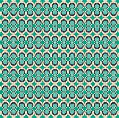 Retro Pop MInt  Collectie: Carnaby Street (Art Gallery)  Design: Art Gallery     Kwaliteit100%  katoen  Stofbreedte110 cm  AchtergrondkleurMintgroen en donkerblauw  Motief grootte1,5 cm (cirkel)