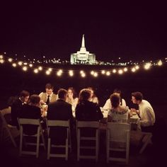 If I could possibly find a place overlooking the temple, I would totally compromise a late reception.