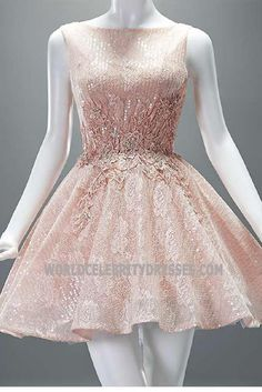 Pink Sequined Embroidery Sweet Sixteen Dress Flower Girl Dresses For Less