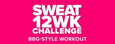 Try a FREE BBG workout! Work up a sweat & challenge yourself with this HIIT workout inspired by my BBG program. Bbg Workouts, Fit Board Workouts, You Fitness, Fitness Goals, Kayla Itsines Workout, 12 Week Challenge, Bikini Body Guide, Celebration Quotes, Pregnancy Workout