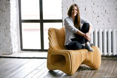 parametric chair by Pmetric on Etsy