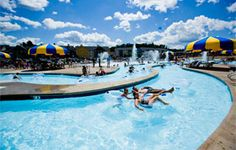 Travel the world's fastest river on your next family vacation and journey between indoor and outdoor water park fun. | Mt. Olympus Water & Theme Park Resort | Wisconsin Dells, WI |