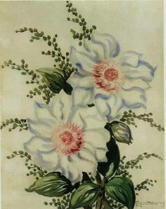 Flores - 1950 Georgina de Albuquerque