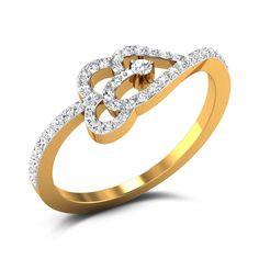 Shania Hearts Diamond Ring