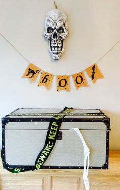 A personal favourite from my Etsy shop https://www.etsy.com/uk/listing/249347334/halloween-bunting-banner