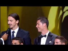 Zlatan Ibrahimovic:Cristiano and Messi will score less than me  FIFA Ballon d'Or 2013