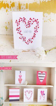 [無料ダウンロード] バレンタインデーに使えちゃうお洒落なカードやタグ 40 賃貸マンションで海外インテリア風を目指すDIY・ハンドメイドブログ<paulballe ポールボール>