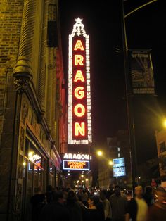 """""""The Brawl Room""""—Aragon Ballroom- Venue has played host to artistic events, concerts, comedy shows, etc."""