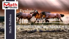 Limits Math Problem to solve lim in Calculus Mathematics Trigonometric Functions, Math Problems, Problem And Solution, Calculus, Mathematics, This Or That Questions, Learning, Math, Studying