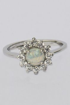 925 Sterling Silver Opaline Cubic Zirconia Ring In stock Price Cubic Zirconia Rings, Opaline, Sterling Silver Rings, Sapphire, Gemstone Rings, Gemstones, Jewelry, Month Gemstones, Sterling Silver Band Rings