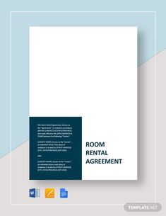 House Rental Agreement Template - Word (DOC)   Google Docs   Apple (MAC) Apple (MAC) Pages   Template.net Room Rental Agreement, Rental Agreement Templates, Typography Design, Lettering, How To Improve Relationship, Word Doc, Letter Size, Coding, Google Docs