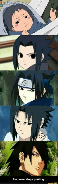 Annoyed Sasuke moments